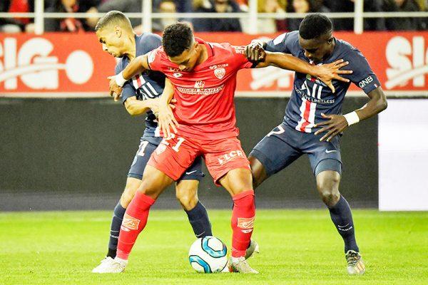 Dijon : un joueur ne serait pas autorisé à partir