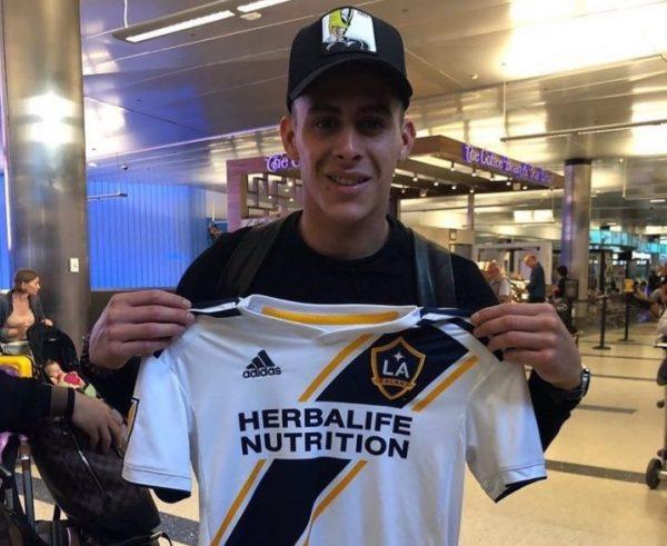 Officiel : le LA Galaxy prolonge le prêt de Pavon