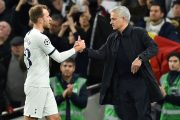 José Mourinho évoque le cas Christian Eriksen
