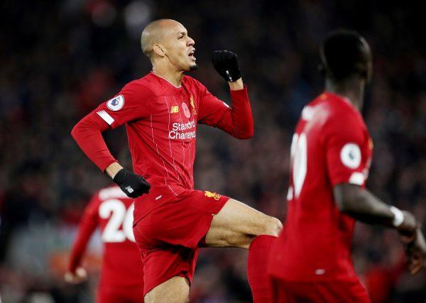 Liverpool : la stat flatteuse de Fabinho