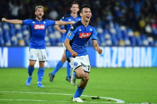 Naples : deux clubs anglais se penchent sur Hirving Lozano