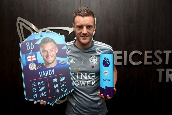 Officiel : Jamie Vardy élu joueur du mois d'octobre en Premier League