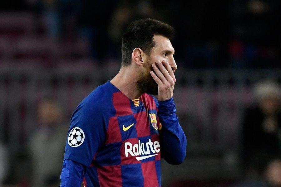 Ligue des Champions : Messi absent contre l'Inter