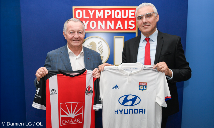 L'Olympique Lyonnais s'associe au FUS de Rabat