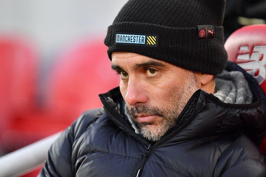 Man City : Guardiola se met lui-même la pression