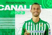 Officiel : Canales a prolongé son contrat