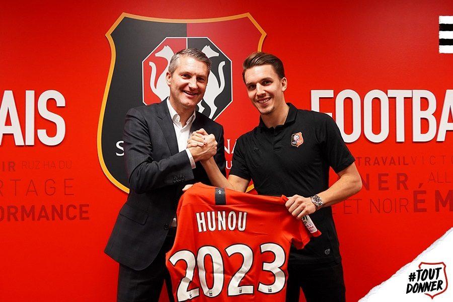 Officiel : Adrien Hunou prolonge à Rennes