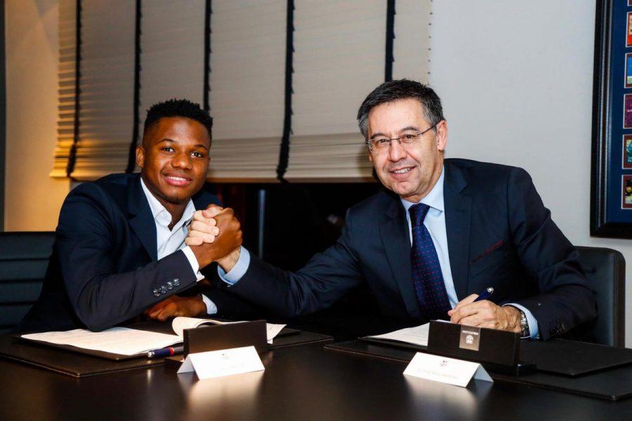 Officiel : Ansu Fati rempile au Barça