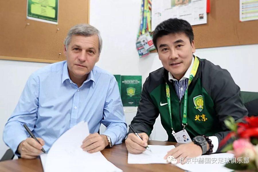 Officiel : Bruno Genesio prolonge au Beijing Guoan