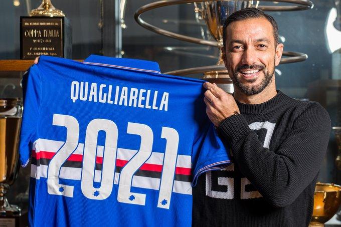Officiel : Fabio Quagliarella prolonge à la Sampdoria
