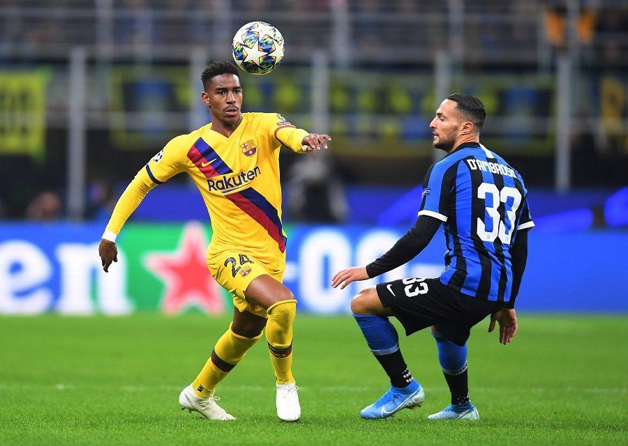 FC Barcelone : Junior Firpo évoque son avenir