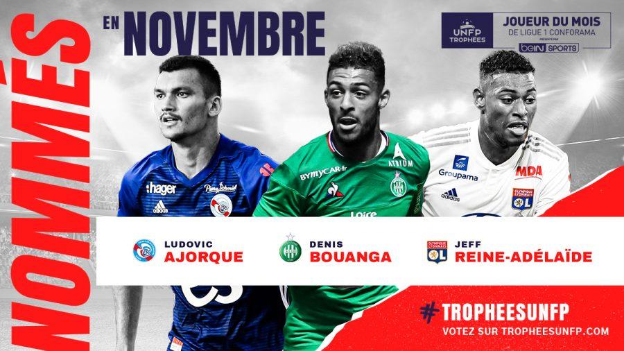 Ligue 1 : les joueurs du mois de novembre sont connus
