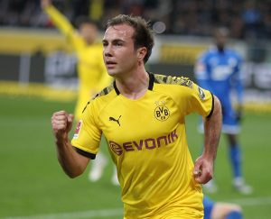 Dortmund : Mario Götze a des touches en Italie