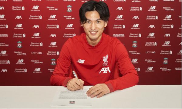 Officiel : Minamino première recrue de Liverpool en 2020