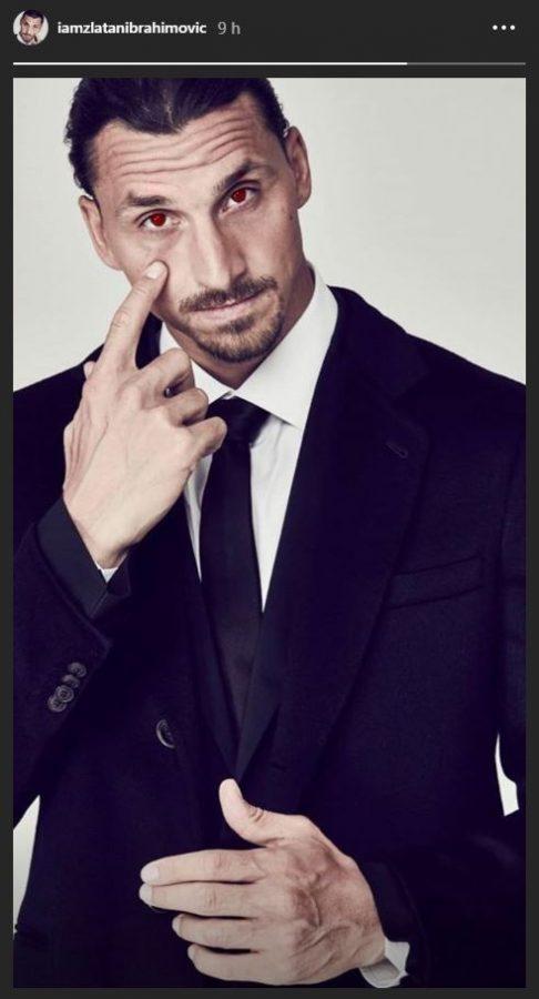 Zlatan Ibrahimovic communique sur son avenir