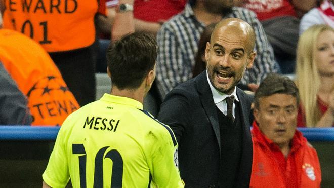 Lionel Messi et Pep Guardiola pourraient bientôt être réunis !