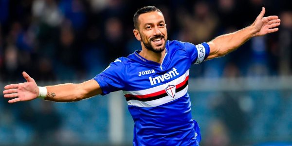 Sampdoria : accord trouvé avec Fabio Quagliarella