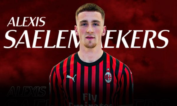 Officiel : Alexis Saelemaekers est Rossonero