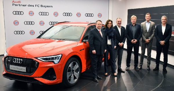 Le Bayern Munich poursuit son partenariat avec Audi