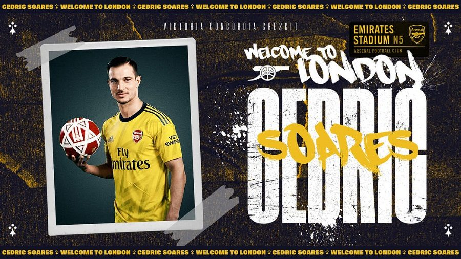 Officiel : Arsenal recupère Cedric Soares