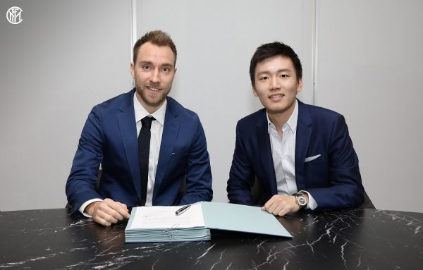 Officiel : Christian Eriksen rejoint l'Inter Milan