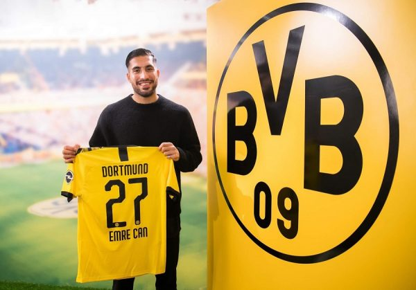 Officiel : Dortmund réalise le bon coup Emre Can