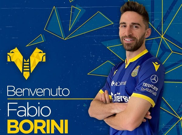 Officiel : Fabio Borini rejoint le Hellas Verone