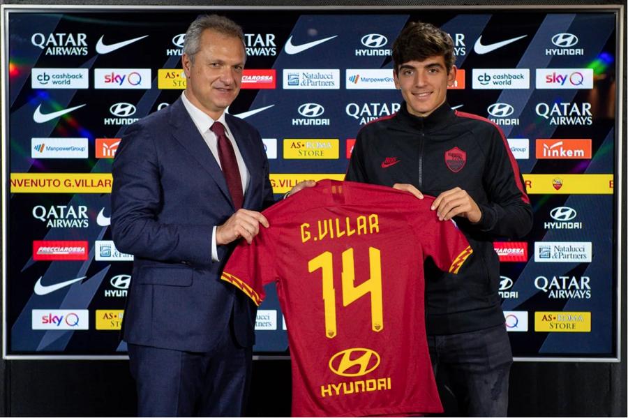Officiel : l'AS Roma accueille Gonzalo Villar et Carles Pérez