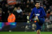 La prolongation de Messi au Barça au point mort