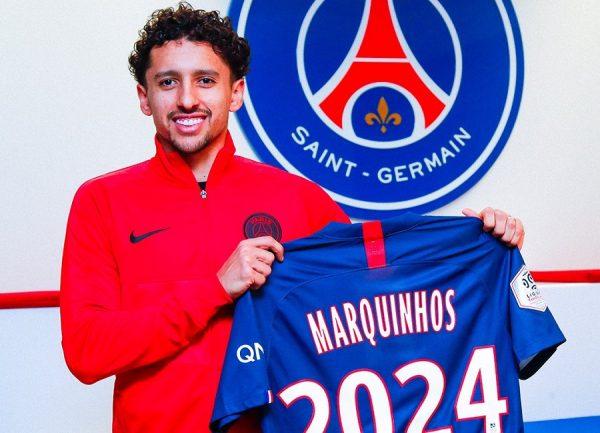 Officiel : Marquinhos prolonge au PSG jusqu'en 2024