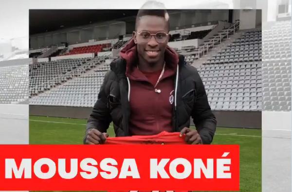 Officiel : Moussa Koné signe au Nîmes Olympique