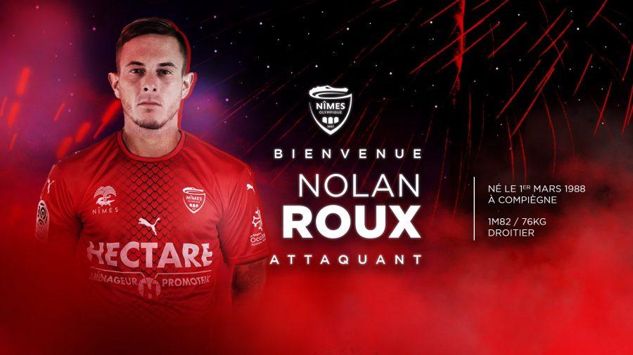 Officiel : Nîmes accueille Nolan Roux