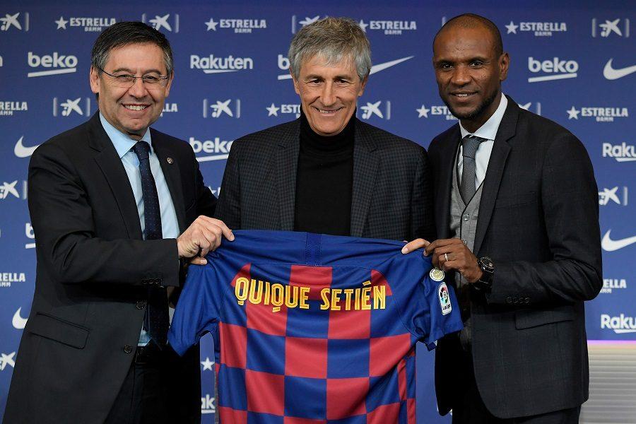 FC Barcelone : Quique Setien a déjà un souhait !