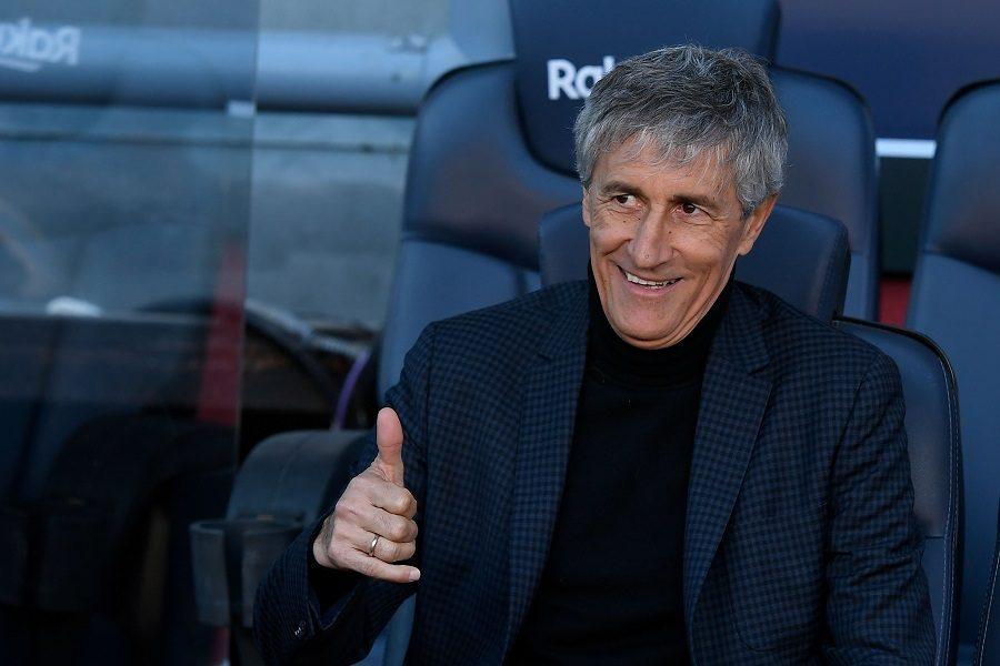 FC Barcelone : Quique Sétien devrait rester la saison prochaine