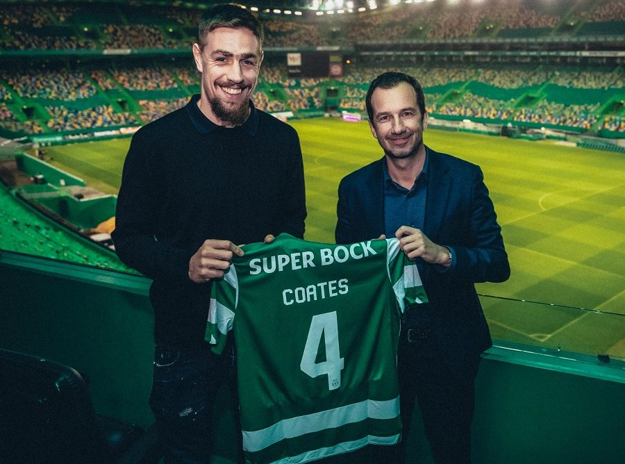 Officiel : Sebastian Coates prolonge au Sporting CP