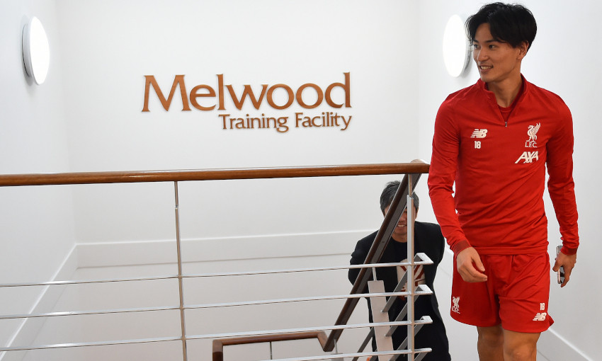 Liverpool : les premiers pas de Takumi Minamino