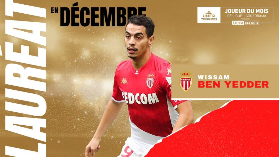 Ligue 1 : Wissam Ben Yedder élu joueur du mois de décembre 2019