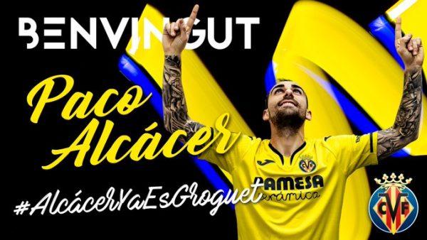 Officiel : Paco Alcacer rebondit à Villarreal