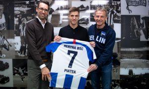 Officiel : le Hertha Berlin recrute Krzysztof Piatek