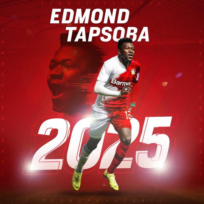 Officiel : Le Bayer Leverkusen recrute Edmond Tapsoba