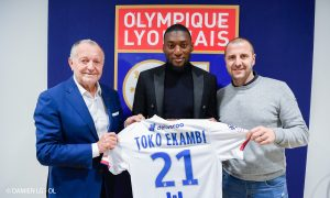 Officiel : Karl Toko Ekambi signe à l'OL