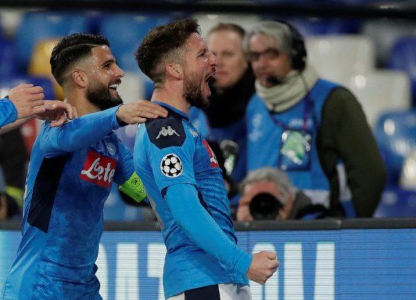 Naples : trois clubs font le forcing pour Dries Mertens