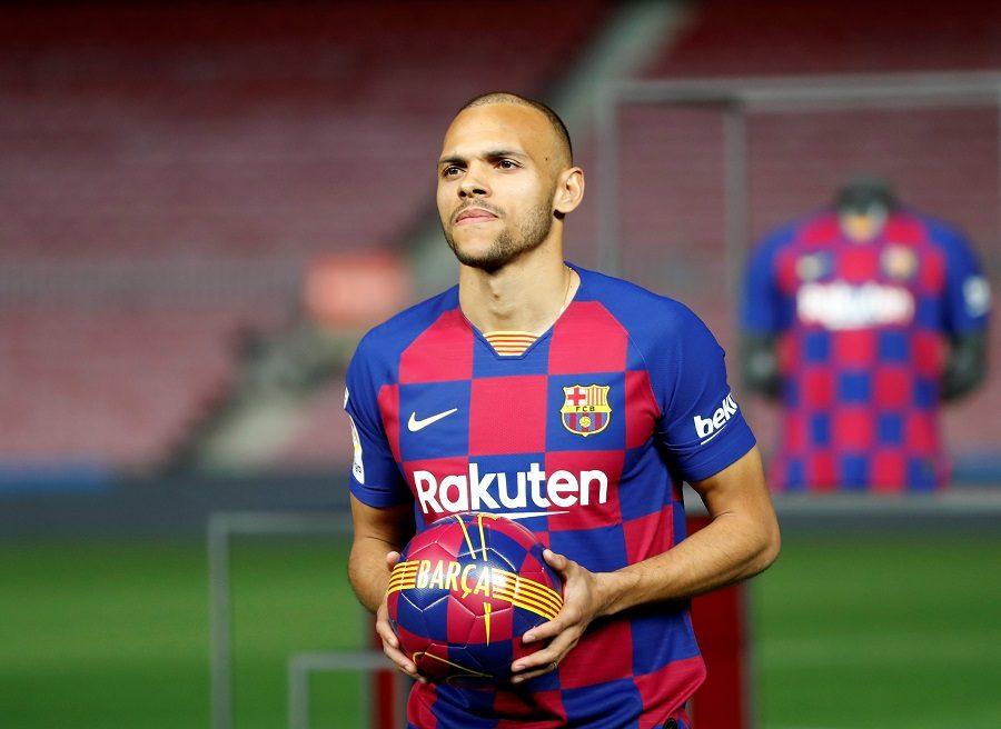FC Barcelone : le club déjà prêt à se séparer de Braithwaite ?