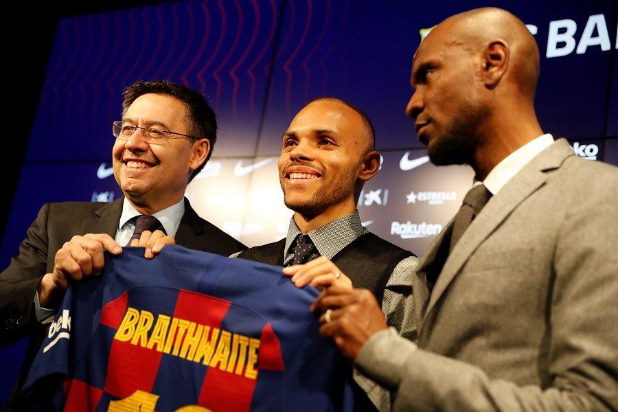 FC Barcelone : Martin Braithwaite a été présenté officiellement