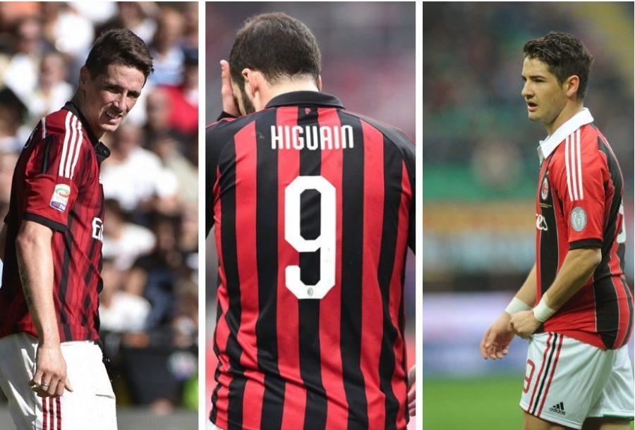 Milan AC : la malédiction des n°9
