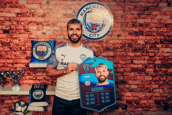Premier League : Sergio Agüero élu joueur du mois de janvier