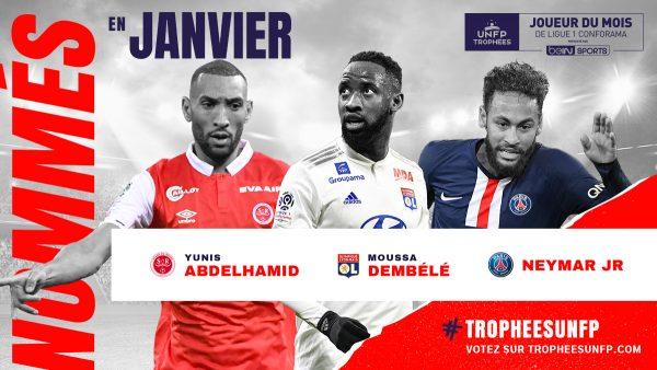 Ligue 1 : les joueurs du mois de janvier sont connus
