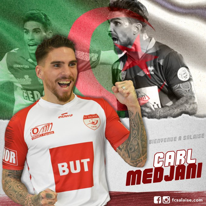 Officiel : Carl Medjani est de retour en France !