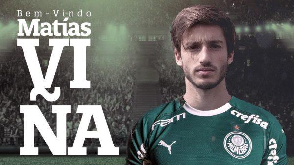 Officiel : Palmeiras recrute Matias Viña
