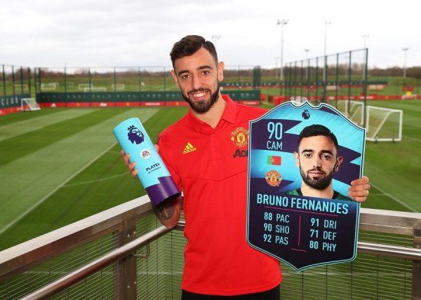 Premier League : Bruno Fernandes élu joueur du mois de février